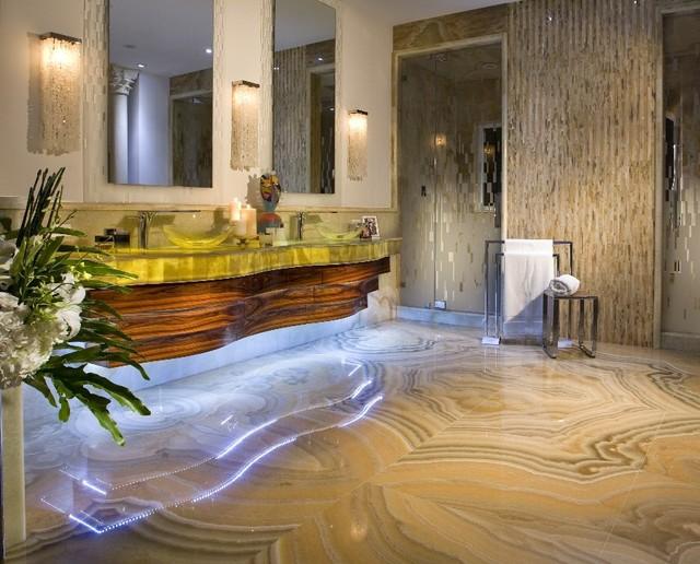onyx marble floor