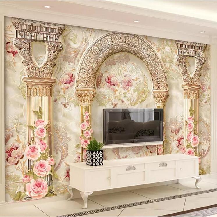 custom-mural-wall-paper-3d-european-style